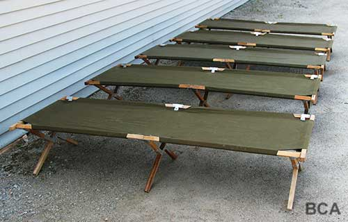 Military Wood Furniture ~ Army set dressing props bca film services