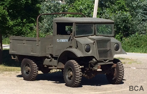WW2 Canadian C15A army truck